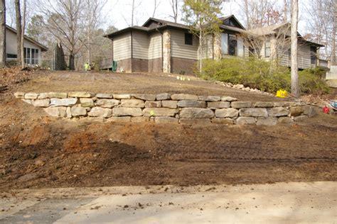 boulder wall boulder walls