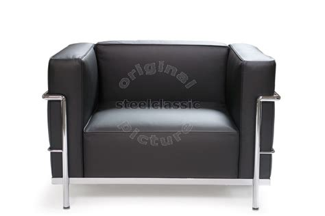 le corbusier fauteuil lc3 steelclassic furniture with history