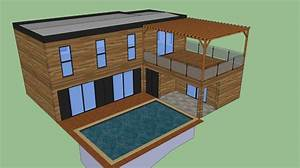 plan maison bois sketchup catodoncom obtenez des With plan maison google sketchup