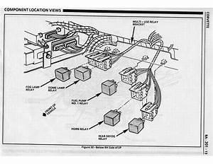 1990 C4 Fuel Pump Relay