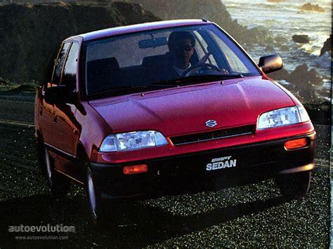 SUZUKI Swift Sedan - 1991, 1992, 1993, 1994, 1995, 1996 ...