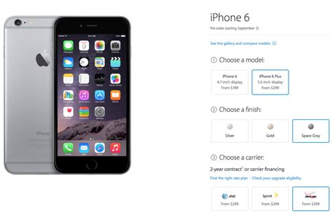 iphones in order apple to allow in for iphone 6 pre orders