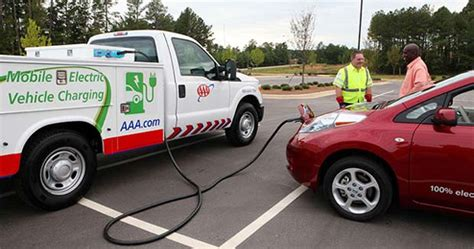 Aaa Roadside Assistance Trucks To Rescue Electric Cars