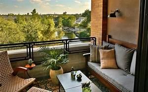 Terrasse Dekorieren Modern : 1001 ideen f r terrassengestaltung modern luxuri s und gem tlich kleiner balkon terrasse ~ Fotosdekora.club Haus und Dekorationen