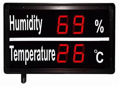 Temperature Display Digital Led Displays Digit Humidity