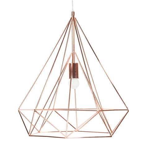 suspension en m 233 tal d 45 cm copper maisons du monde