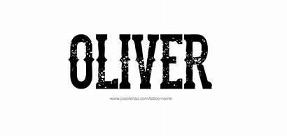 Oliver Tattoo Designs