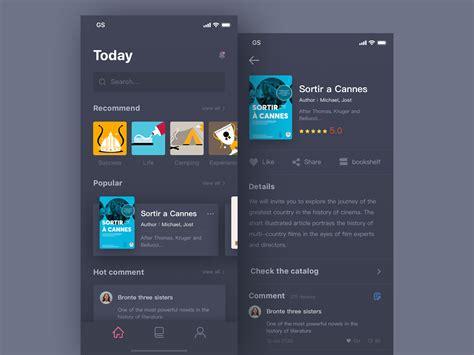 images app design app interface design