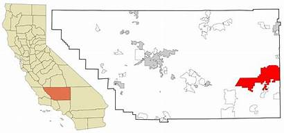 Kern County California Svg Highlighted Incorporated Unincorporated