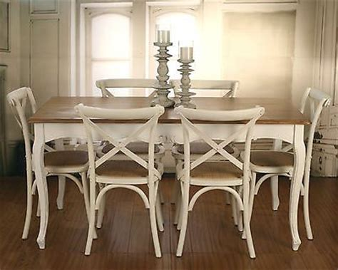 7 provincial dining table chairs package