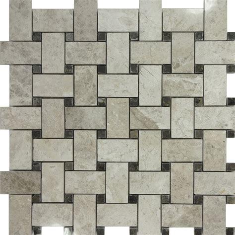 10sf tundra gray marble pattern mosaic tile wall sink