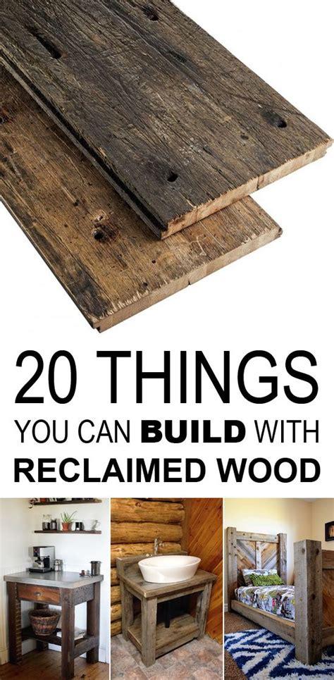 build  reclaimed wood  wood