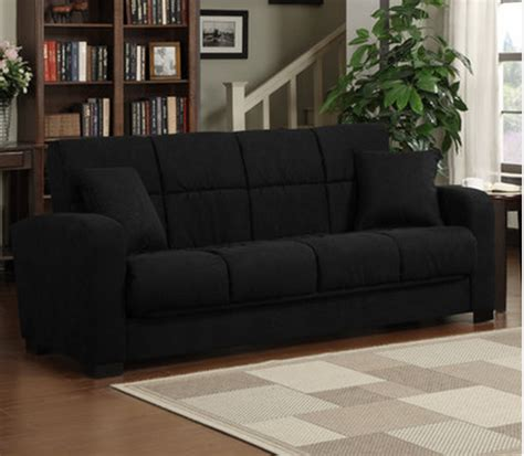 8 Black Convertible Sleeper Sofas For Your Living Room