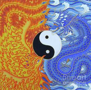 dragon and phoenix painting - Google Search | Chinese Art ...