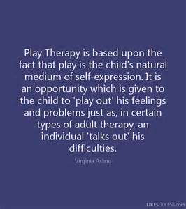 Play Therapy for Children Quotes