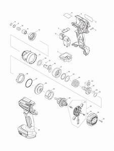Buy Makita Xdt11r Replacement Tool Parts