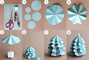 Deco Noel En Papier : guirlande papier noel fabriquer brassline ~ Melissatoandfro.com Idées de Décoration