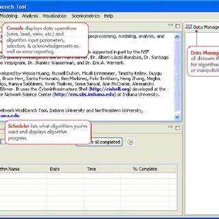 Pdf Network Workbench Tool