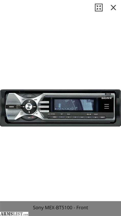Sony Xplod Deck Bluetooth Pairing by Armslist For Sale Trade Sony Xplod Bluetooth Car Stereo