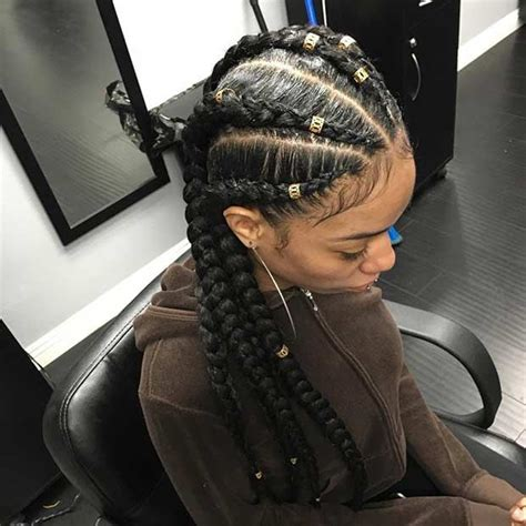 Cornrow With Extensions Hairstyles by 31 Cornrow Styles To Copy For Summer Cornrow Extensions