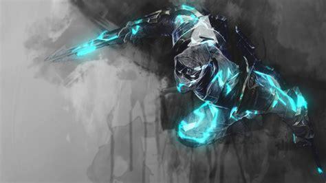 League Of Legends Shockblade Zed Wallpaper For Iphone