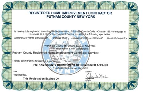 When should i renew my license? Nyc Home Improvement Contractor License Renewal Form   Taraba Home Review