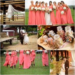 country wedding bridesmaid dresses image result for http rusticweddingchic wp content uploads 2013 05 coral pink