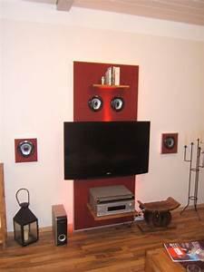 Tv Paneel Wand : tv board selber bauen dunkles tv board selber bauen anleitung von hornbach dunkles tv board ~ Sanjose-hotels-ca.com Haus und Dekorationen