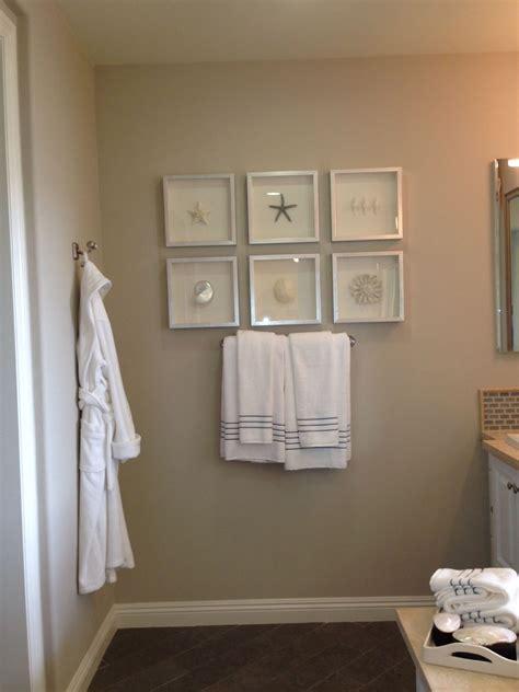 Bathroom Beach Decor Framing Ideas Model Home