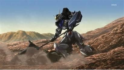 Orphans Iron Gundam Blood Fight Sunrise