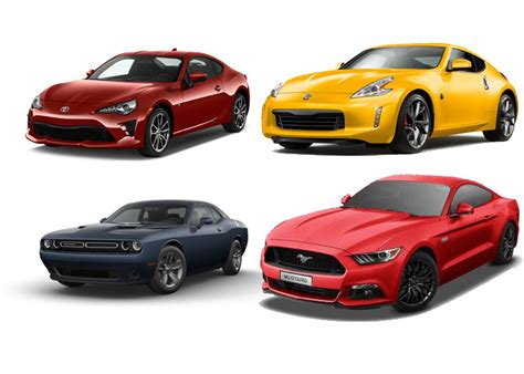 List Of Top 10 Affordable Sports Cars In 2017
