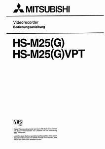 Mitsubishi Hs-m25 G