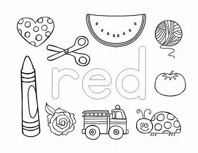 Preschool Activities Coloring Pages Fun Easy Colors