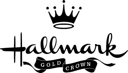 hallmark gold crown graphic logo decal customized