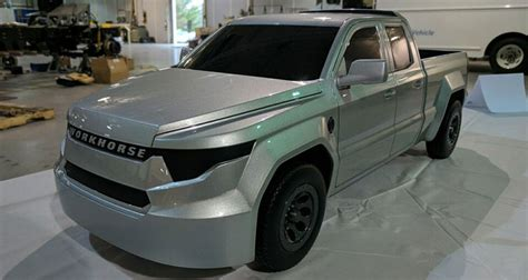 workhorse electric pickup truck workhorse unveils w 15 electric pickup truck made with