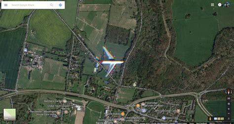 Entdeckung Auf Den Google Maps