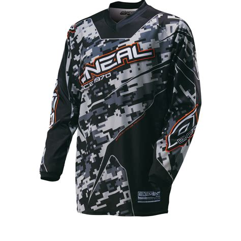 camo motocross oneal element 2016 digi camo motocross jersey motocross