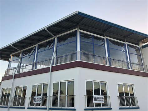 motorized retractable screens  patios porches garages