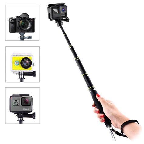 gopro hero action kameras selfie stick schwarz