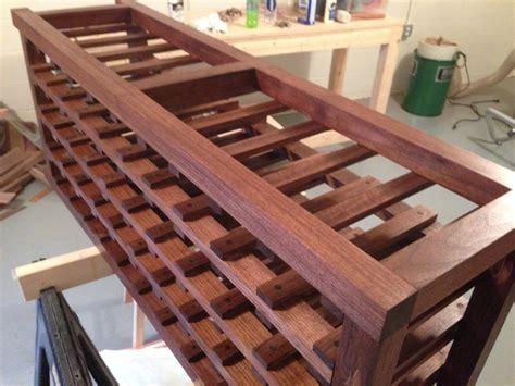 black walnut wine rack  dat  lumberjockscom