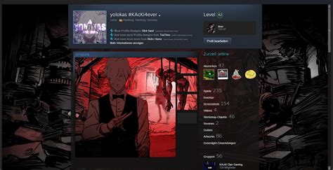 [animated] Death Parade Themed Steamdesign By Yolokas On