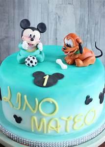 Mickey Mouse Geburtstag : disney baby torte mickey und pluto zum 1 geburtstag disney babys torten pinterest ~ Orissabook.com Haus und Dekorationen