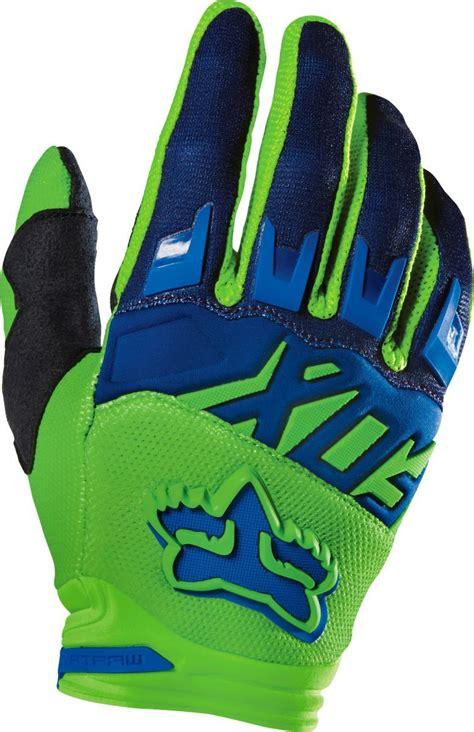 fox motocross gloves fox new 2016 youth mx race flo green motocross dirt bike