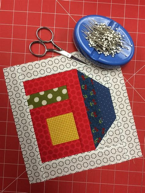 house quilt patterns free house quilt block pattern tutorial on craftsy