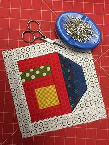 Free House Quilt Block Pattern + Tutorial - On Craftsy