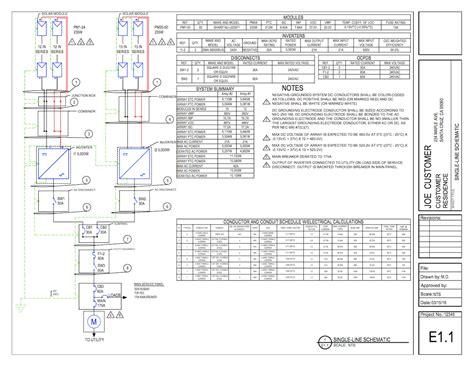 combiner visio templates single line diagrams on demand solardesigntool