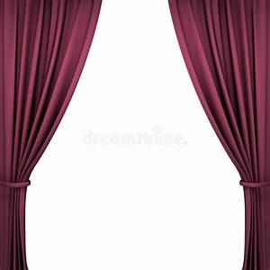 Rideaux En Velours : rideaux rouges en th tre de velours illustration stock illustration du mat riel l gance ~ Teatrodelosmanantiales.com Idées de Décoration