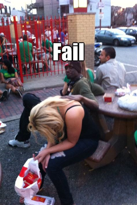 Fail Drunk Girl Quickmeme