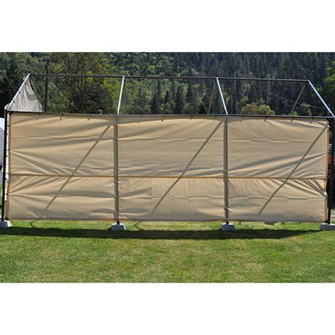 30 Foot Wide  Replacement Carport Side Panel Tan
