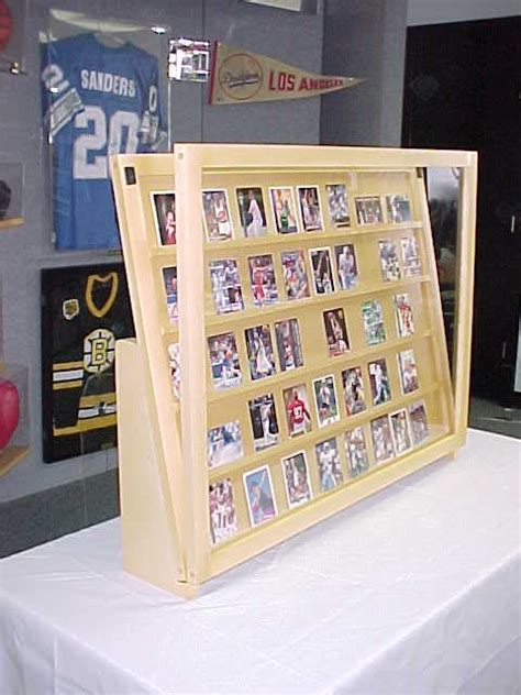 We did not find results for: 1/2 Tabletop baseball card display case / Golden Oak With Super Legs